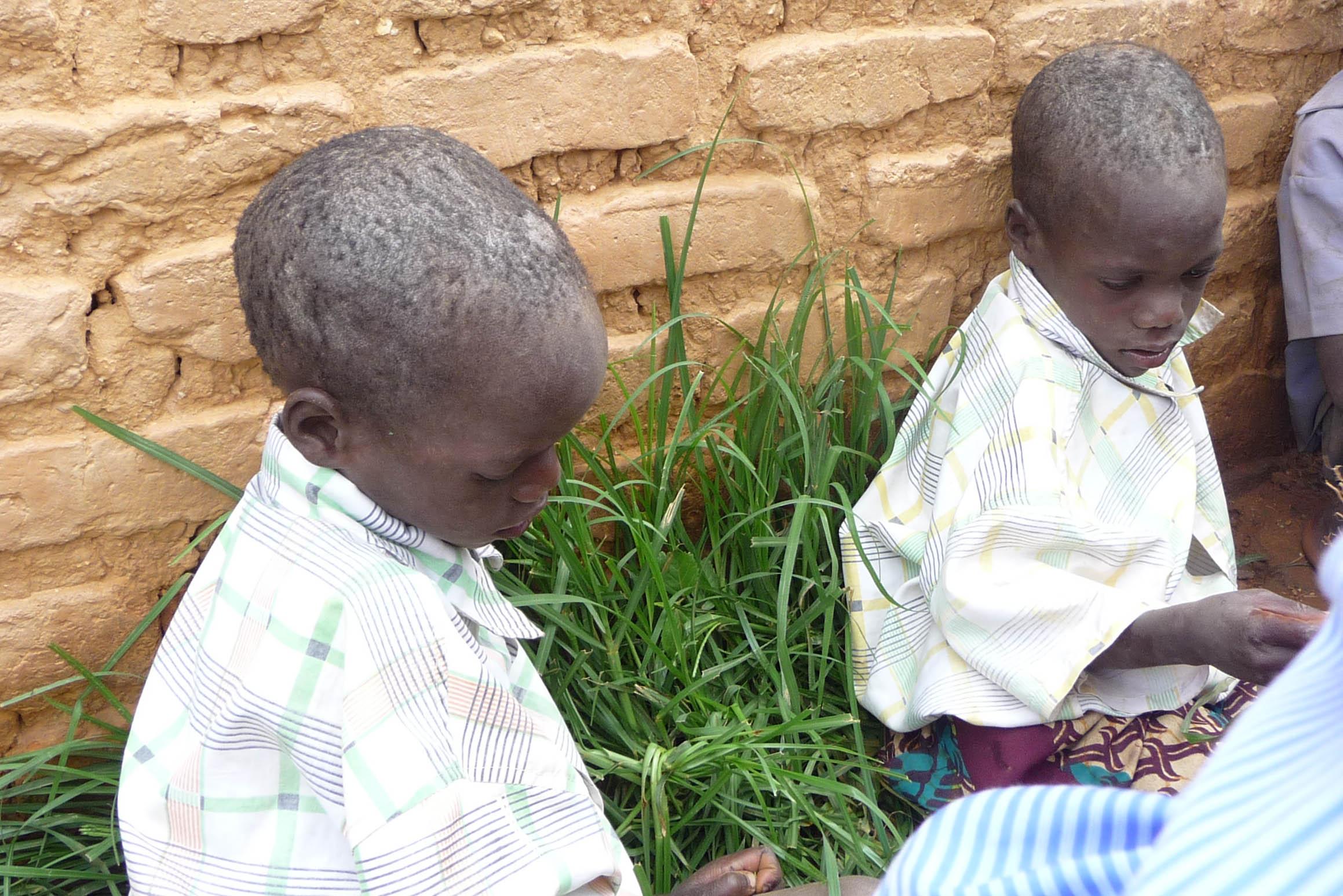 Starving Children in Zimbabwe